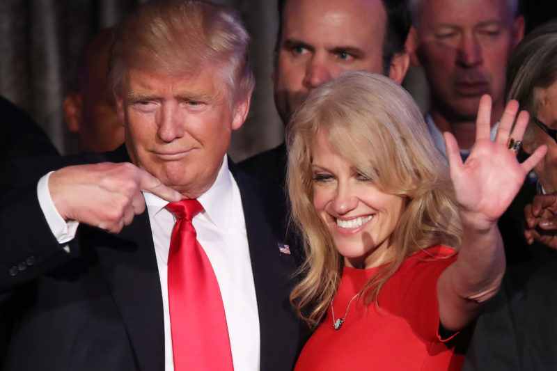 VIDEO: Kellyanne Conway Puts Singer Taylor Swift In Her Place After Her Attack On President Trump