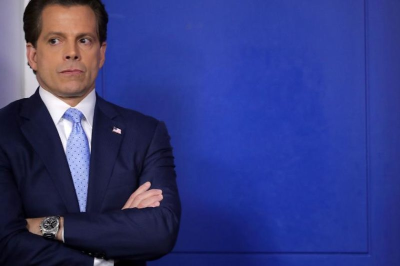 Scaramucci Shows Up At Fundraiser Leaving Little Doubt Who He Is Working With