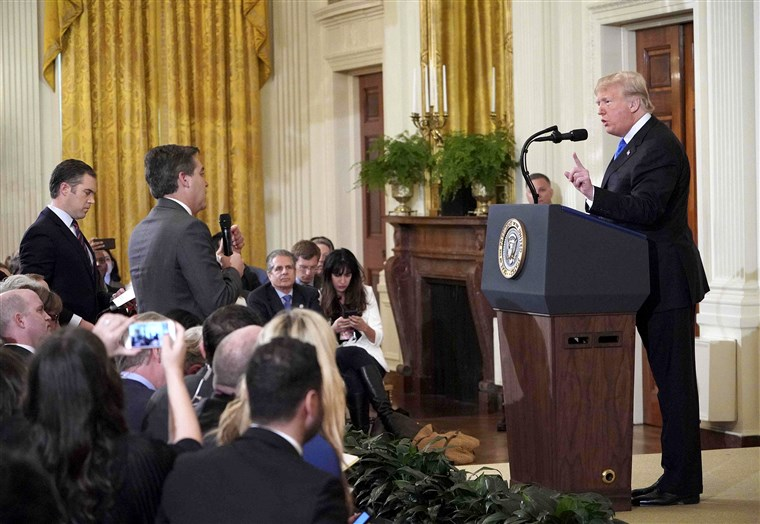 Trump's New White House Rule Shuts Down Media's Antics For Good And Jim Acosta Throws A Tantrum (VIDEO)