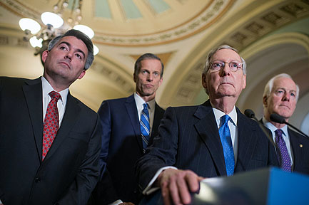 Senate Republicans Send A Message To House Dems About Impeachment…'You Are Wasting Your Time'