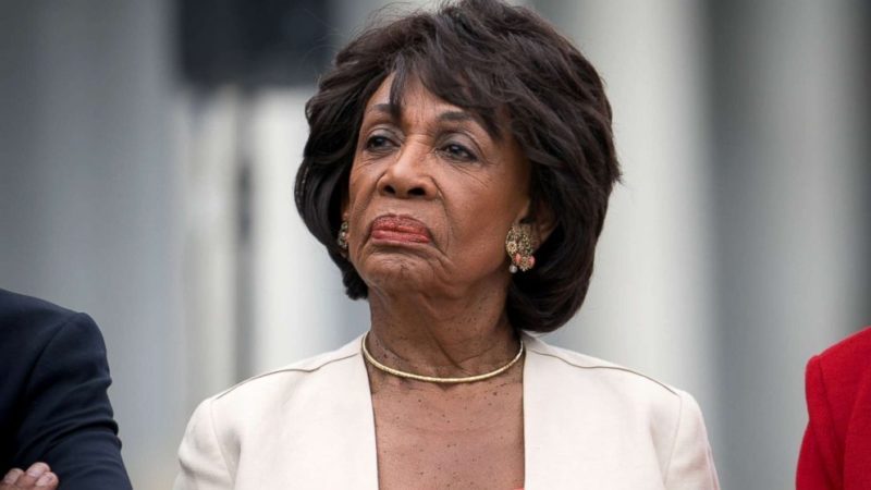 Congresswoman Mad Maxine Waters Floats Criminal Charges Against Pence and Barr