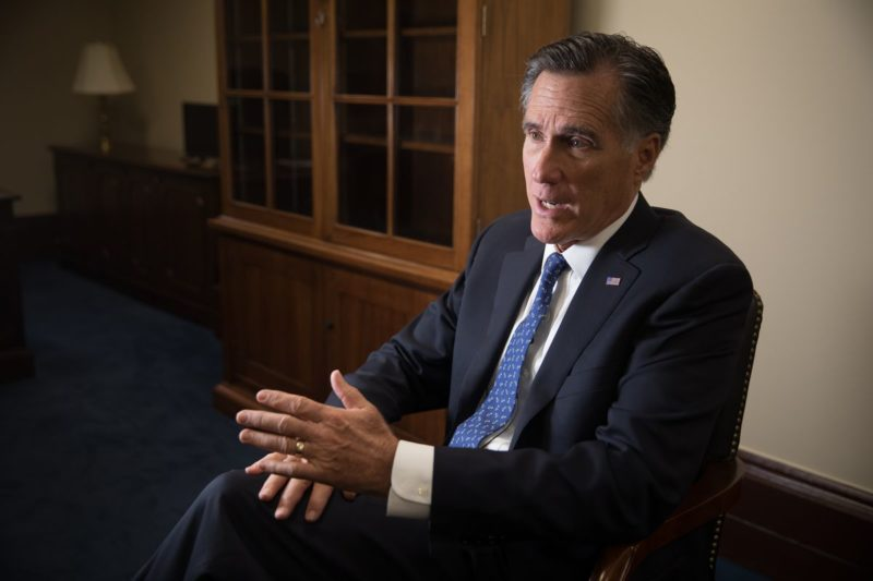 Romney Rips Trump And Admits He May Help Impeach Him