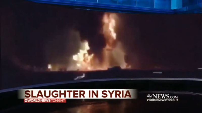 ABC News Gets Caught Red Handed: 'Syrian Slaughter' Video Was Actually Recorded In Kentucky