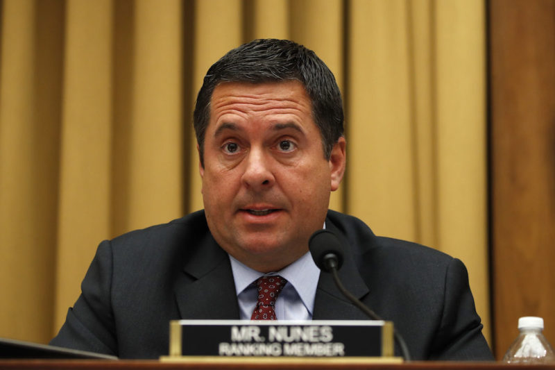 Rep Congressman Nunes Investigating Intell Inspector General And Claims He Altered Whistleblower Complaint
