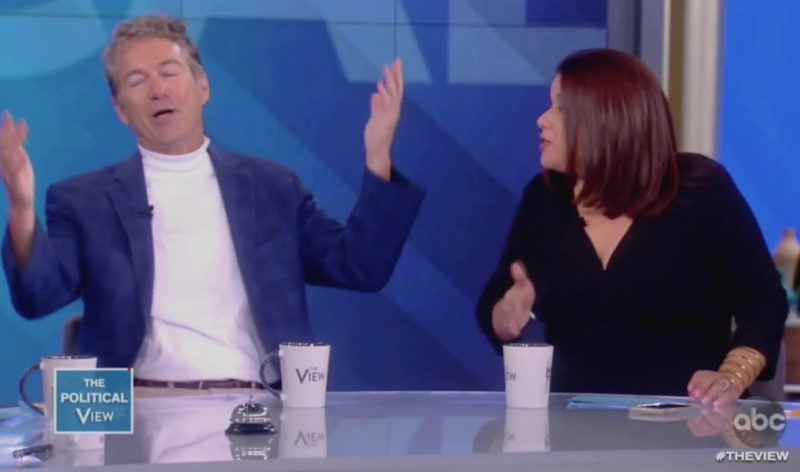 Ana Navarro Loses Her Mind When Sen. Rand Paul Takes Her To School On Socialism, 'Don't Mansplain…'
