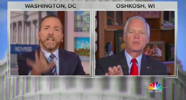Video: NBC's Chuck Todd Loses His Mind When Challenged By Republican Senator