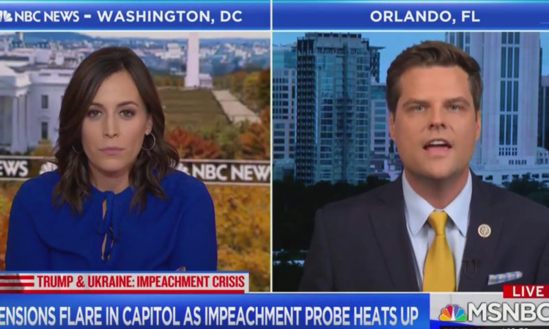 Video: Republican Congressman Stands Up To MSNBC And Puts Host In Their Place
