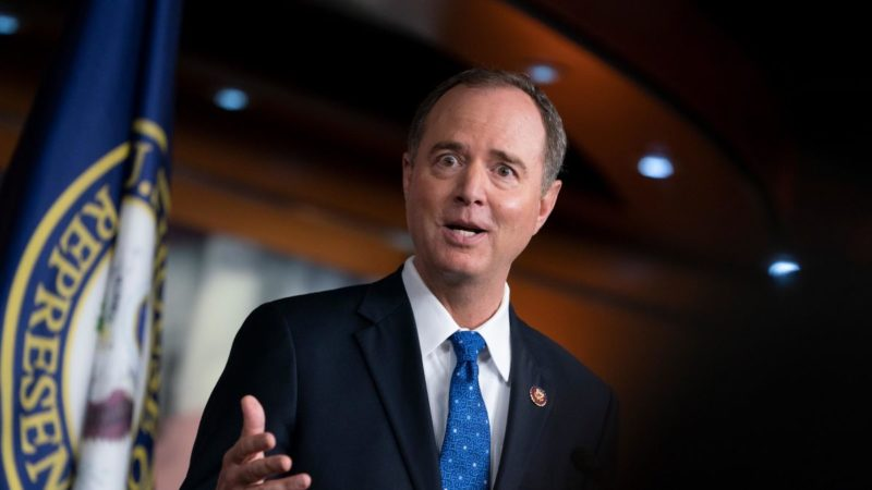 Half of House Republicans Are Attempting To Take Down Schiff