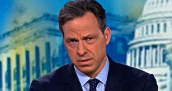 Video: Conservative Reporters Question To CNN's Jake Tapper Causes Him To Run Away