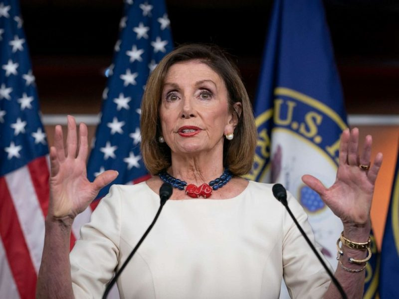 Pelosi Chickens Out On Official Vote