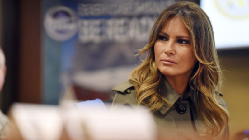 Nasty Liberals Disrupt First Lady Melania Trump While She Visits Sick Mothers And Children