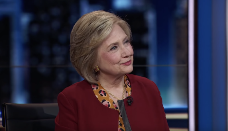 Video: Hillary Gives A Creepy Response To A Question About Jeffrey Epstein's Death