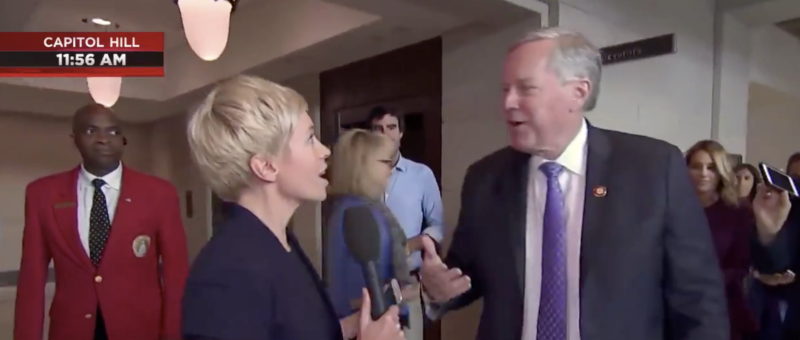 Busted! Republican Congressman Interrupts MSNBC Reporter When She Tries To Spin Fake News Live On The Air