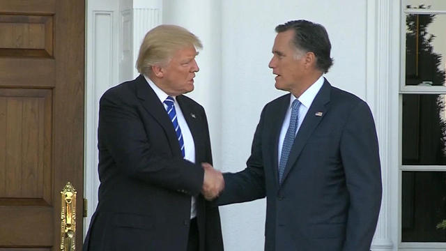 Romney Is Trying To Play Kiss And Make Up With President Trump