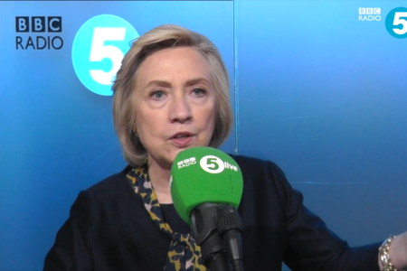 Watch: Hillary Clinton Pivots And Now Leaves The Door Wide Open To Run In 2020 Because Of 'Enormous Pressure'