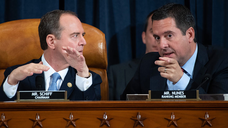 Watch: Rep. Devin Nunes Rips Rep. Schiff Right To His Face During Impeachment Hearing; 'Hide The Kids…'