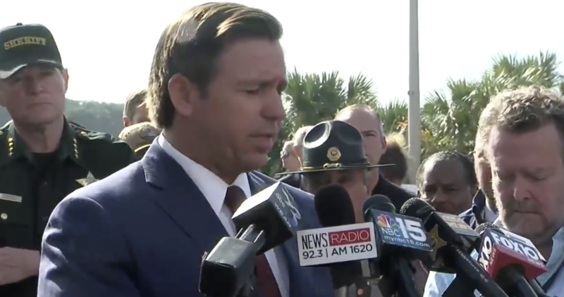 Watch: Florida Governor Calls Out Saudi Arabia To Pay Up After Deadly Shooting
