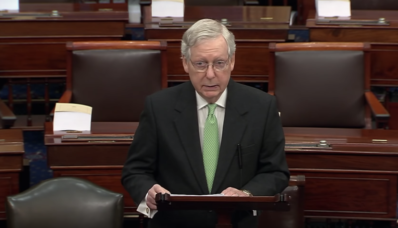 Watch: McConnell Shuts Down Schumer And Then Twists The Knife With Nominations