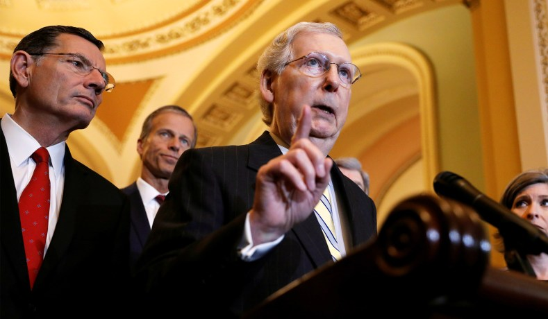 Rumor Has It Senator McConnell Is About To Do Something That Will Make Sure Democrats Don't Have A Merry Christmas