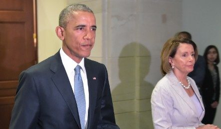 Desperate Pelosi Is Now Calling In Obama For Help