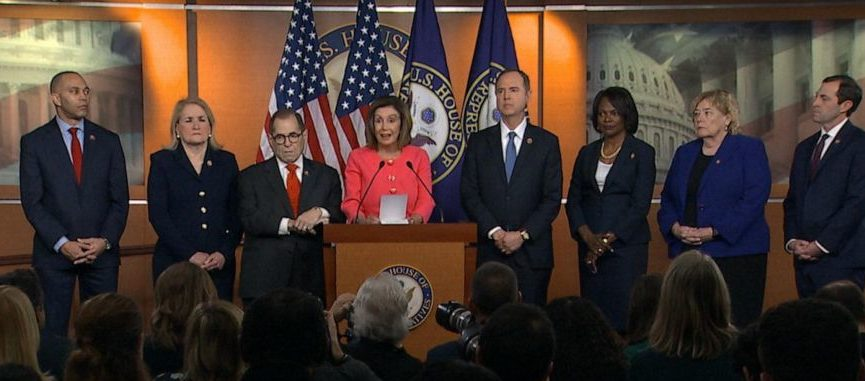 Pelosi's Slip Of The Tongue During Impeachment Presser Revealed An Astonishing Admission