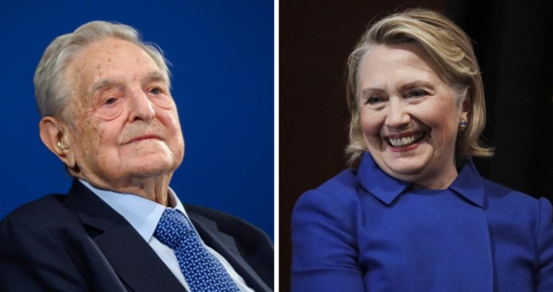 Soros And Hillary Clinton Team Up With New Conspiracy To Prevent Trump's Victory In 2020