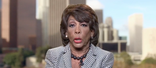 Watch: Maxine Waters Issues A Troubling Warning To Republicans