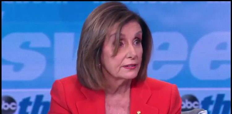 Watch: Pelosi Brings Russia Into Impeachment With Nauseating Accusation Against McConnell