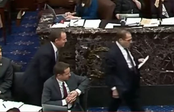 Watch: Trump Campaign Masterfully Pokes Fun At Nadler And Schiff As Nadler Rains On Schiff 'Historic' Moment