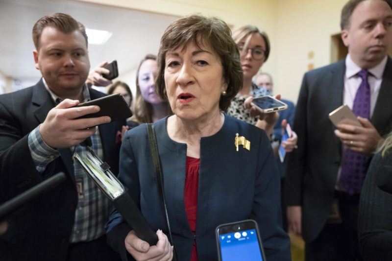 GOP Senator Collins Is Trying To Play Games With The Upcoming Senate Impeachment Trial