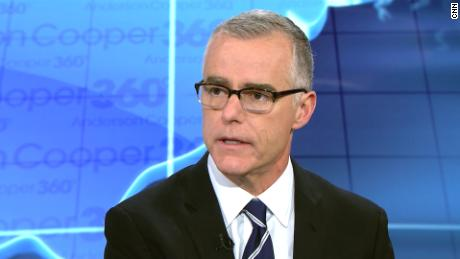 Now Free And Clear Andrew McCabe Goes After President Trump