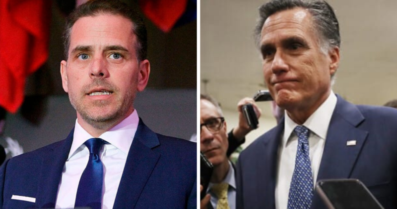The Swamp: Romney, Hunter Biden, And Burisma Connection Discovered