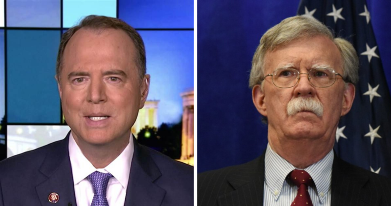 Video: Schiff Asks Bolton For An Affidavit, What Happens Next Tells You  Everything You Need To Know