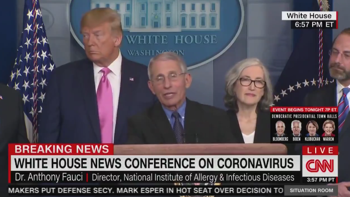 After Spreading Panic CNN Cuts Away As Trump Admin Delivers Good News On Vaccine For Coronavirus