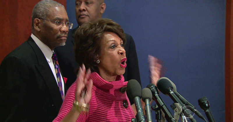 'Mad Maxine' Waters Completely Loses It After She Falls Flat On Her Face