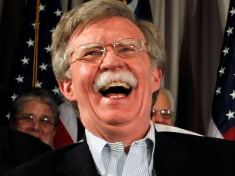 Bolton Latest Stunt During Appearance Is Behavior That Obama Would Be Proud