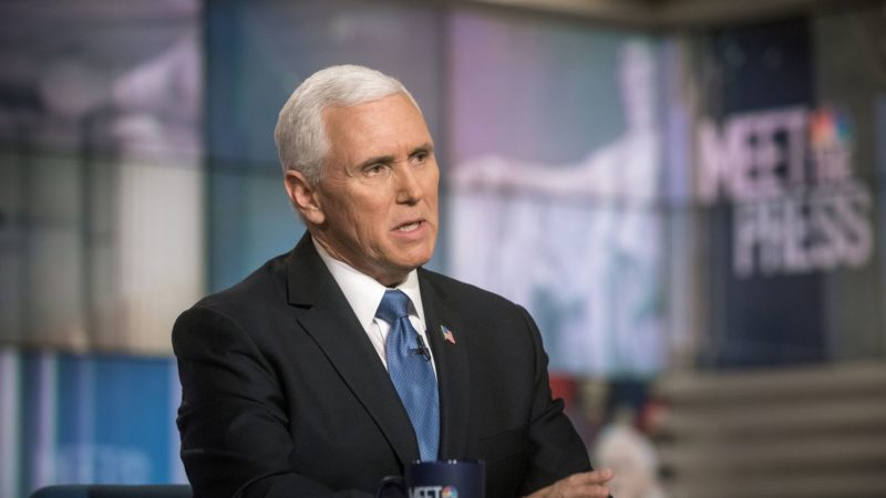 Watch: Pence Throws Cold Water On MSNBC's Chuck Todd When He Goes Off The Coronavirus Rails