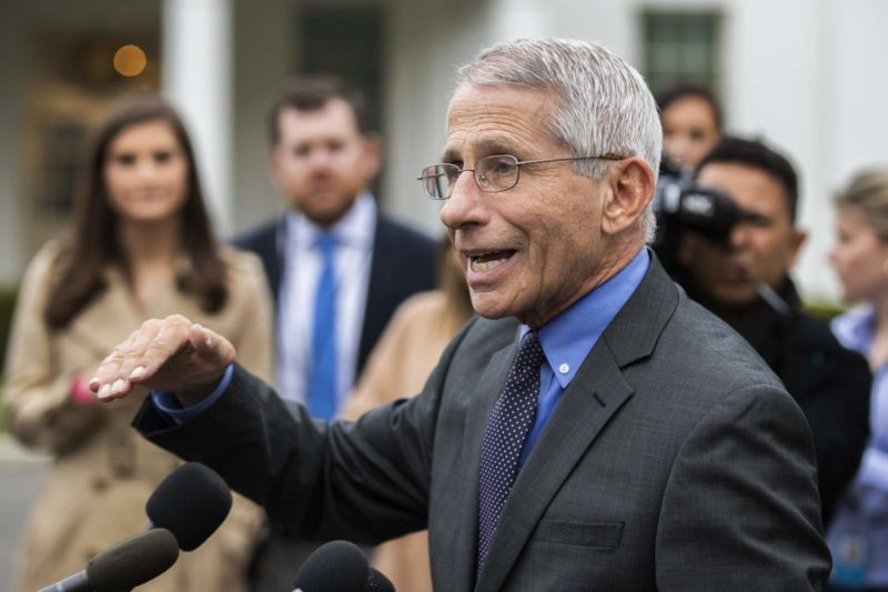 Dr. Fauci Blasts The Media's Attempt To Put A Divide Between Him And President Trump