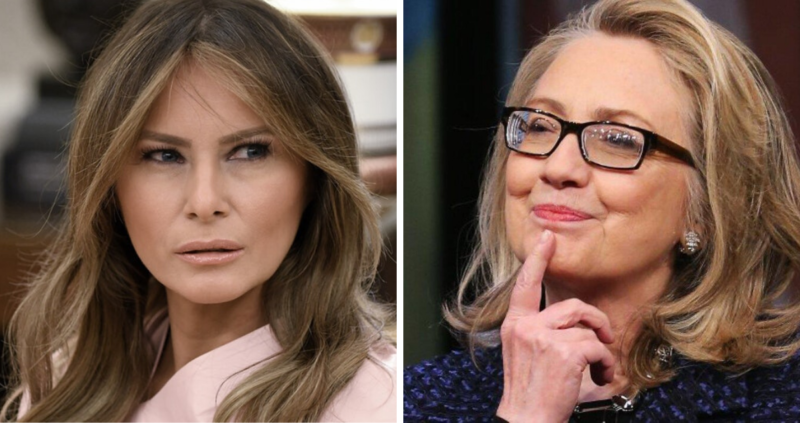 She Just Won't Shut Up: Hillary Now Goes After Melania Trump