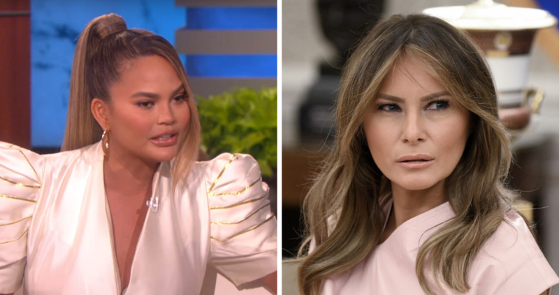 So Much Hate: Model Chrissy Teigen Goes On A Profanity-Laced Attack Targeting Melania Trump