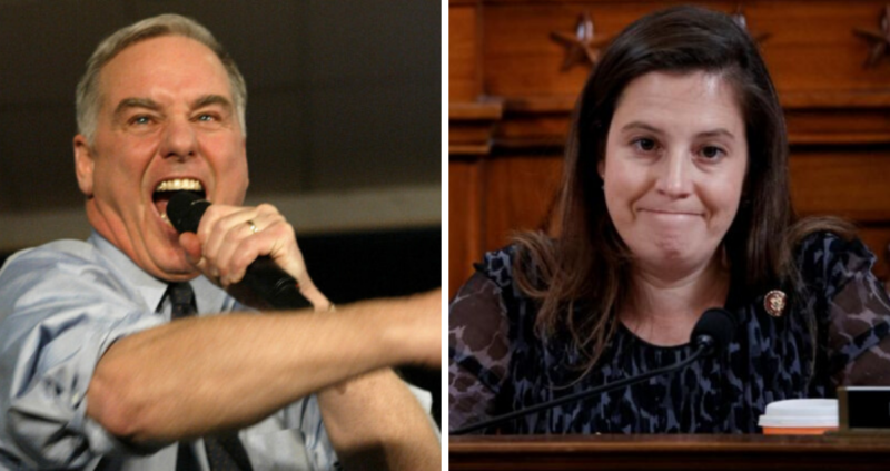 Ex-DNC Head Comments To Rep. Stefanik Are Worse Than The 'Vile' Note Found On Her Car