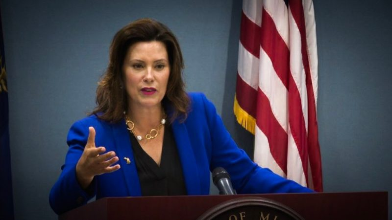 Watch: Whitmer Goes Off Like Joseph Stalin After Michigan Lawmakers Step In, 'I'm Not Going To Sign Any Bill That Takes…'