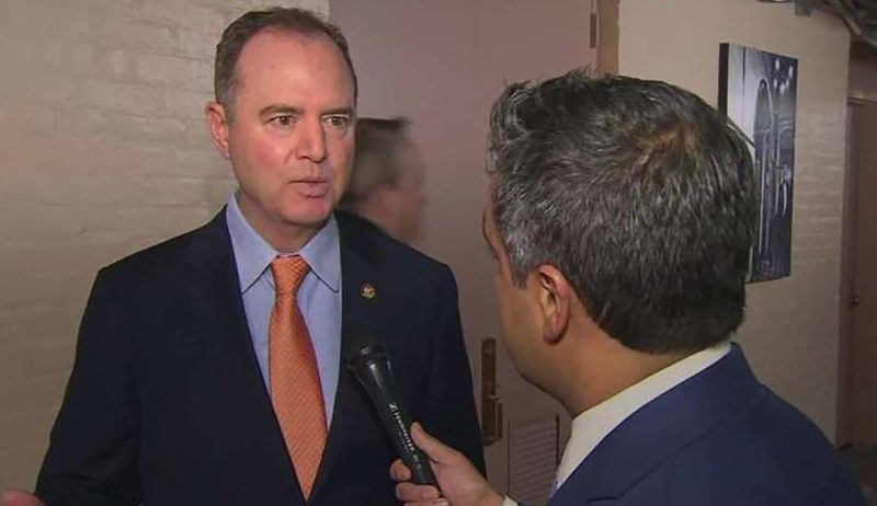 Schiff's Evil Has No Bounds, His Latest Stunt Is Borderline Sedition
