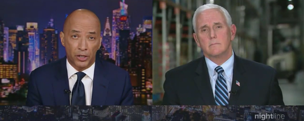 Watch: VP Pence Nails ABC News Host Cheap Shot, 'Do You Talk To God About The People Who Die Because Of Your Inaction?