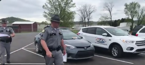 Peoples Republic Of Kentucky: Churchgoers Met With Police And Nails (VIDEO)
