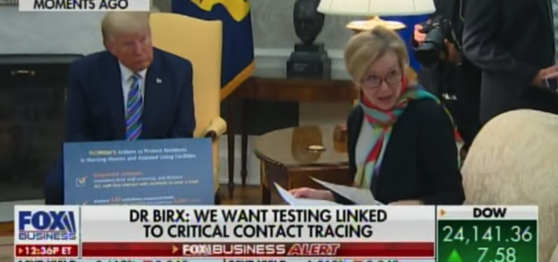 Fireworks In The Oval Office! Dr. Birx Corrects Snarky Reporter & Pres Trump Demands An Apology