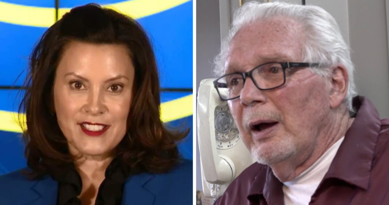 Despite Judge's Ruling Gov. Whitmer Strikes Down 77 Year Old Man With No Due Process