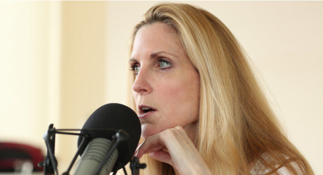 'Conservative' Ann Coulter Turns On Trump & Calls Him A 'Disloyal Actual Retard'…She's Lost Her Mind