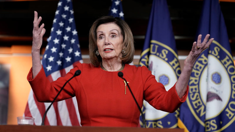 Watch: Pelosi Claims Blaming China For The Coronavirus Is A 'Diversion'