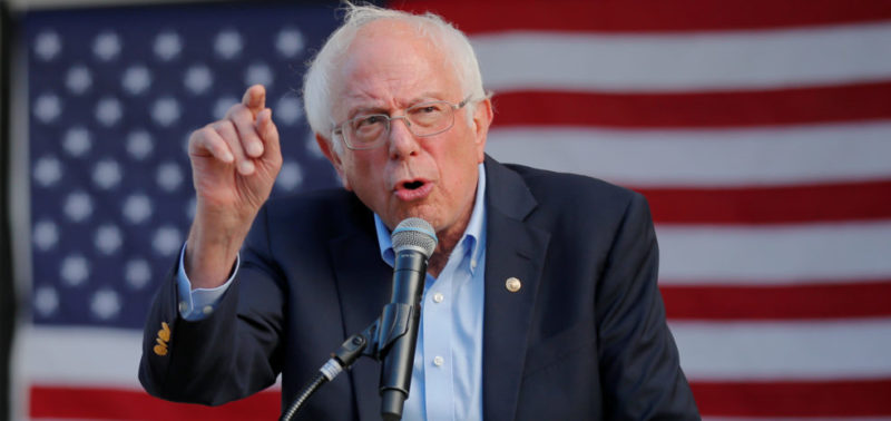 Not Just Police: Sen Bernie Sanders Leading The Charge To DEFUND The Military